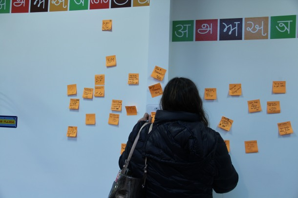 startin fresh with a new post-it wall!