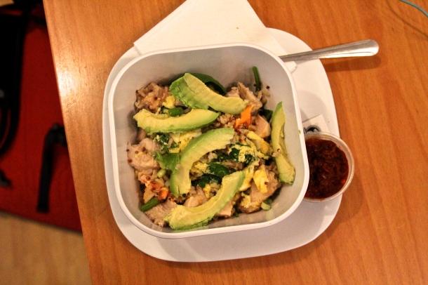avo scramble bowl
