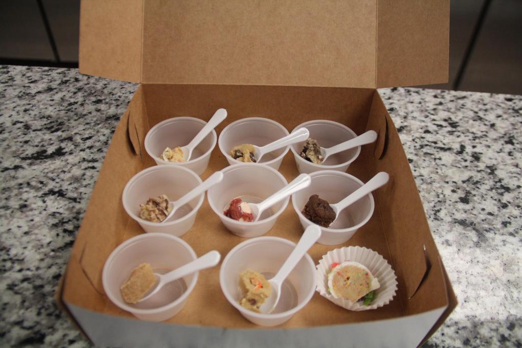 House made ice cream sandwiches