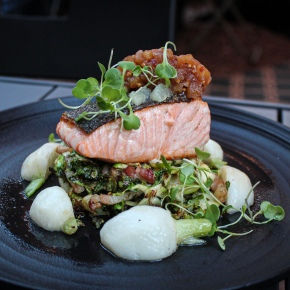 Hip, young bar and fine French cuisine like no other on CrownSt